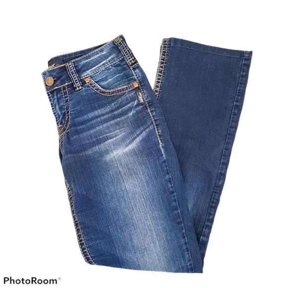 Silver jeans Suki midrise slim bootcut w27